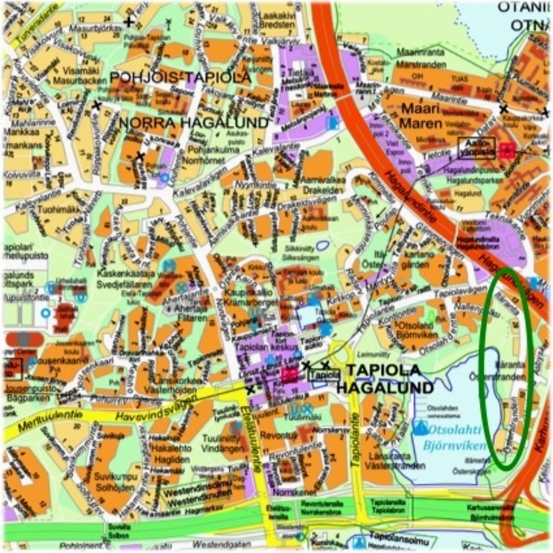 Itaranta Tapiola Garden City